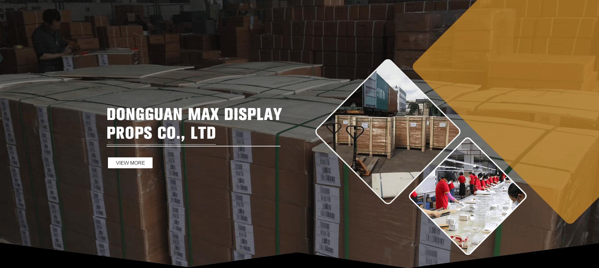 MAX Display Props Factory