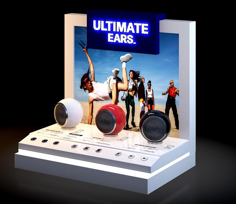 UE Bluetooth Speaker Display Stand