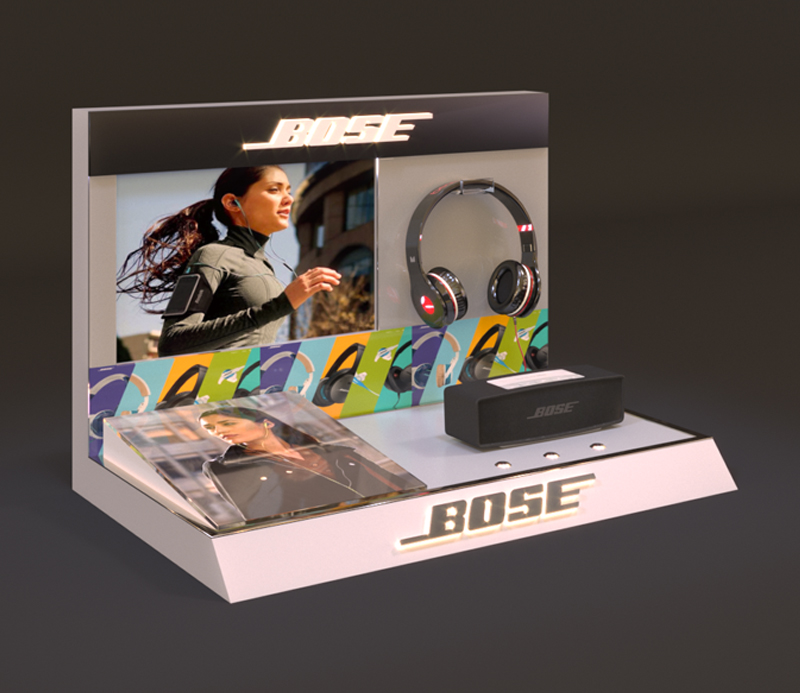 BOSE Speaker & Headphone Display Stand