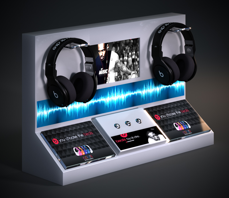 Smart Acrylic Display Stand for Universal Headphones Headsets