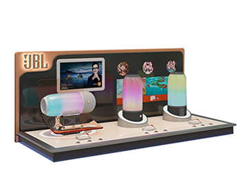 JBL Portable Bluetooth Speaker Display Stand With LCD